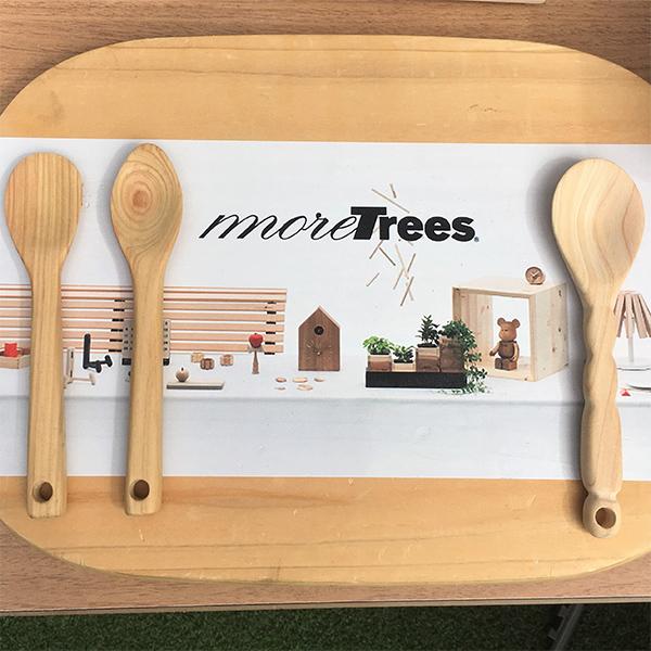 目黒街角と森をつなぐ moretreesスプーン作り